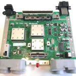 Kyoto Microcomputer Co., Ltd. (KµC) Partner-N Nintendo 64 Development Kit - Debug Console PCB Top
