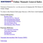 Online Manuals (OS 2.0J)