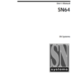 SN Systems User Manual - 1998